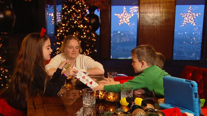 Sanne viert dankzij programma Ontvoerd toch kerst met kids