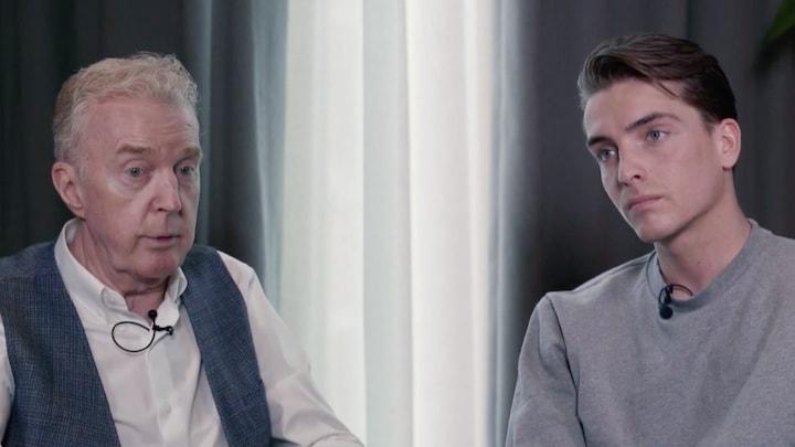 André van Duin over verlies Martin: 'Huil er nog elke dag om'