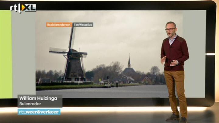 RTL Weer vrijdag 19 december 2014 08:00 uur