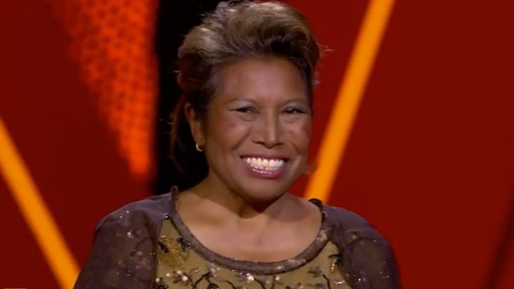 Justine Pelmelay helemaal klaar voor The Voice Senior-auditie