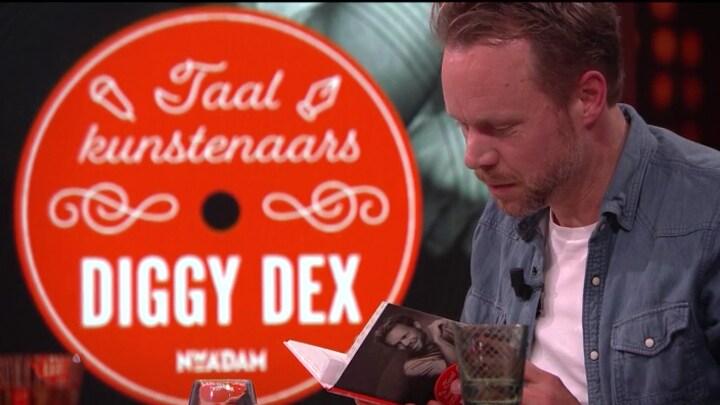 Diggy Dex over zijn grote liefde voor taal