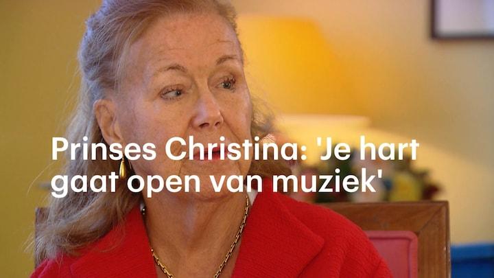 Prinses Christina: 'Amalia en Alexia kunnen prachtig zingen'