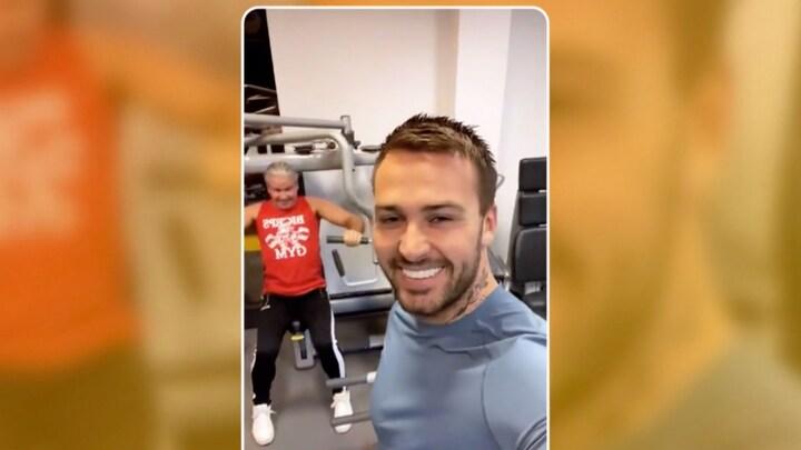 Sportfanaten Dries en Dave Roelvink kunnen eindelijk naar de gym
