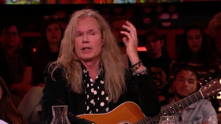 Een van 's werelds beste rockgitaristen Ad van den Berg!