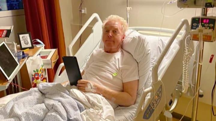 André van Duin onderging chemotherapie tijdens opnames HHB