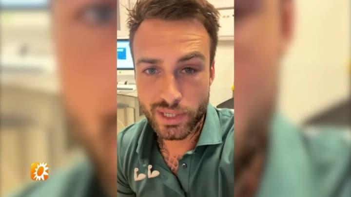 Dave Roelvink vertelt over mogelijke reden gezichtsverlamming