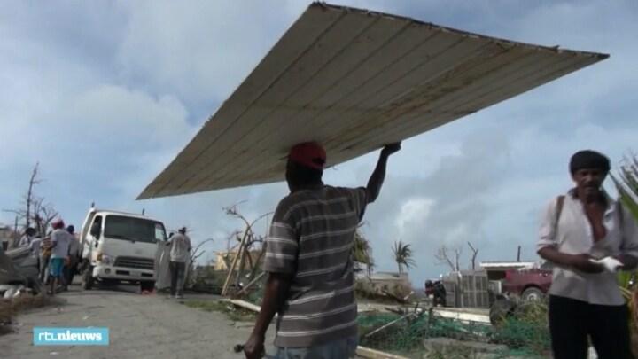 Wederopbouw Sint-Maarten maar net begonnen