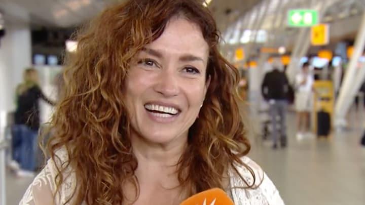 Katja Schuurman dolblij met komst van neefje: 'Heb hem gevoeld'