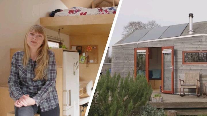Tiny house populairder dan ooit: 'Meer rust en verbinding met natuur' - RTL Nieuws