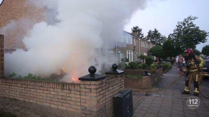 Weer autobranden in Eindhoven