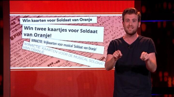 Martijn zegt Sorry: Zomer-/wintertijd, Soldaat van Oranje, Boer Zoekt Vrouw