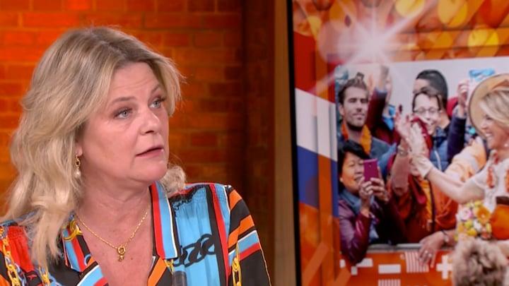 Justine: 'Hoop dat we prinsesjes veel zien op Koningsdag'