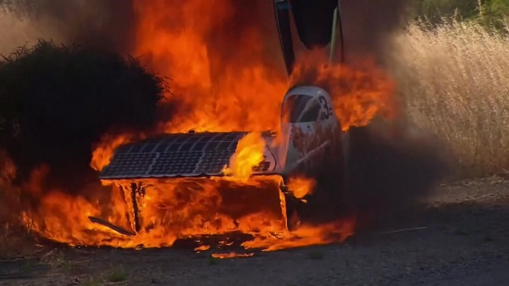 Catastrofe voor Nederlandse solar-raceteams