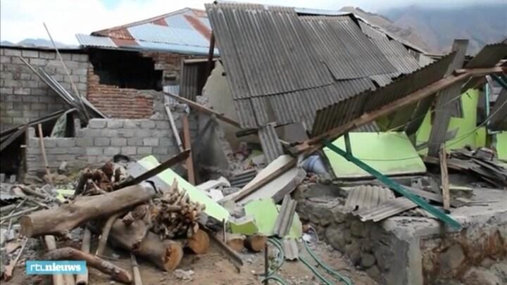 Ravage op Lombok na aardbeving