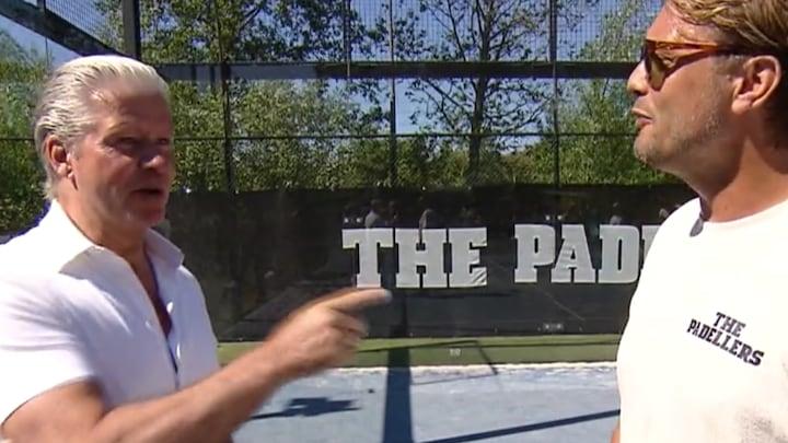 Dries Roelvink en Bas Smit genieten van 'nieuwe' sport Padel