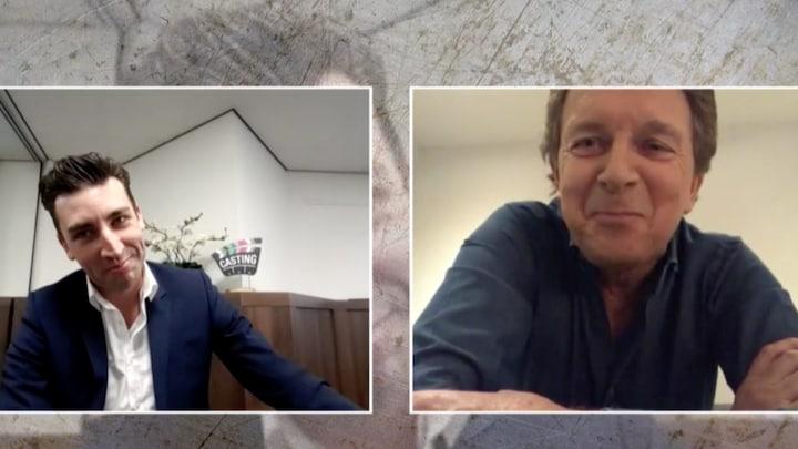 Oren Robert ten Brink klapperen na TV Kantine-imitatie