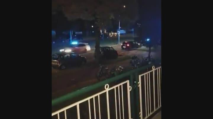 Dertien politieauto's achter gevluchte automobilist aan