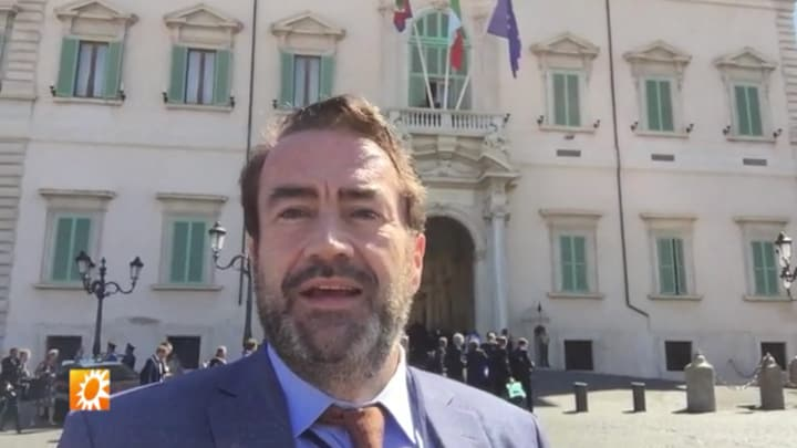 Marc van der Linden in Rome voor staatsbezoek