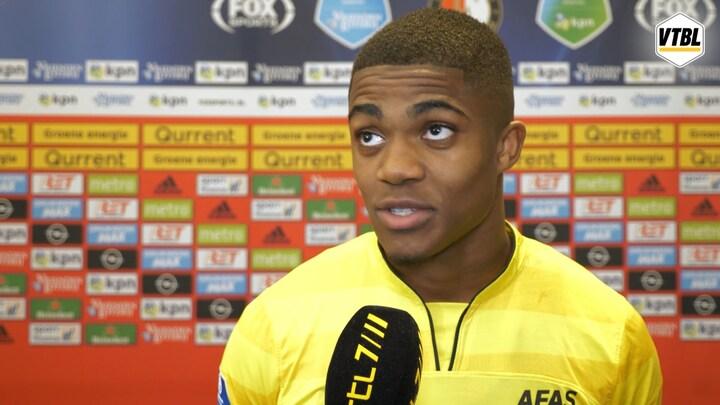 Boadu: 'Rentree maken in zo'n stadion is mooi'