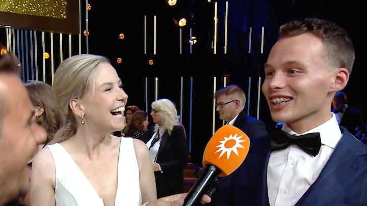 Israël van Dorsten 'flabbergasted' door Televizier-Gala