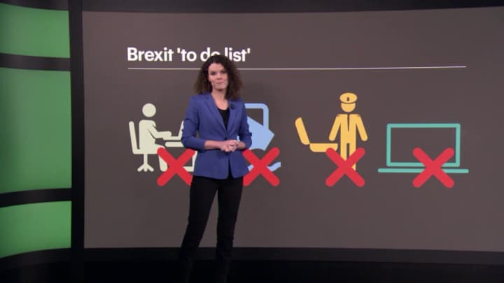 Brexit: chaos dreigt bij Nederlandse douane