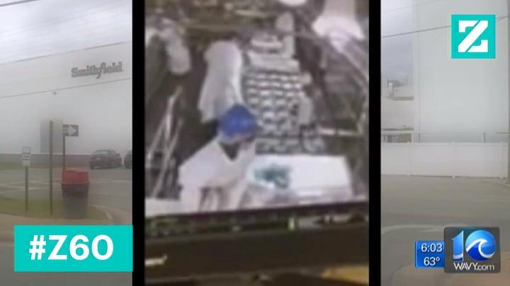 Lopende band-medewerker vernietigt in 5 seconden 23.000 kilo vlees