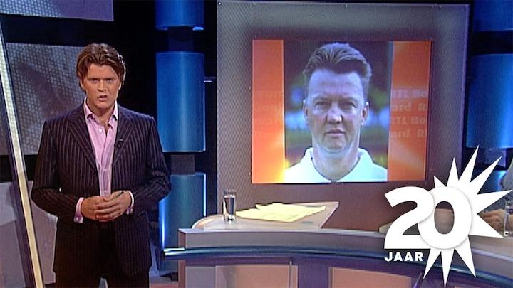 Even terug in de tijd: allereerste uitzending  RTL Boulevard