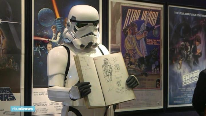 Star Wars-schetsen voor astronomisch bedrag onder de hamer