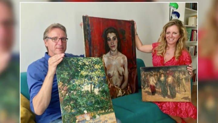 Kunstroof opgelost: drie schilderijen duiken plots op