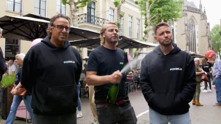 John Ewbank laat Marco Borsato schrikken tijdens 'terrassen tour'