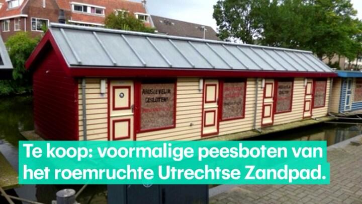 For sale: voormalige Utrechtse peesboten