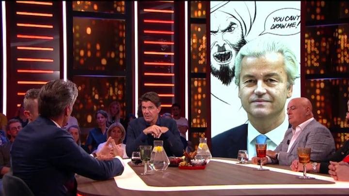 Schoof sprak met Wilders over de risico's van cartoonwedstrijd