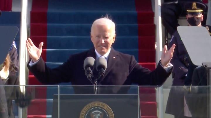 Even terugblikken: exit Donald Trump en inauguratie Joe Biden