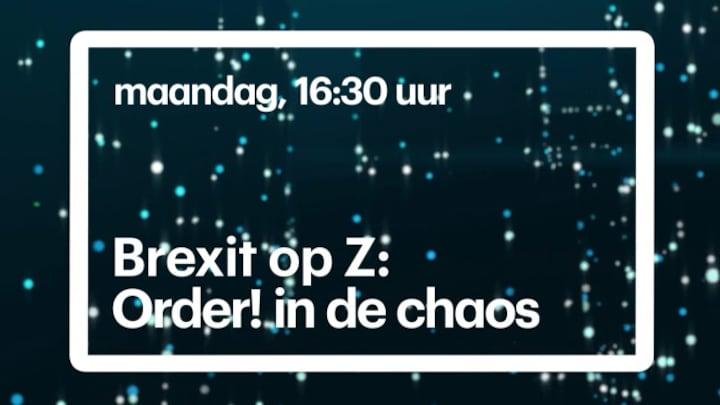 Brexit op Z: Order! in de chaos