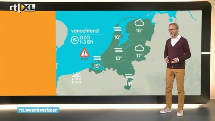 RTL Weer 16 september 2014 06:30 uur