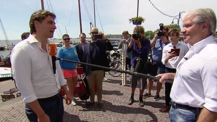 Thierry Baudet: 'Afstand houden is niet nodig in de buitenlucht'