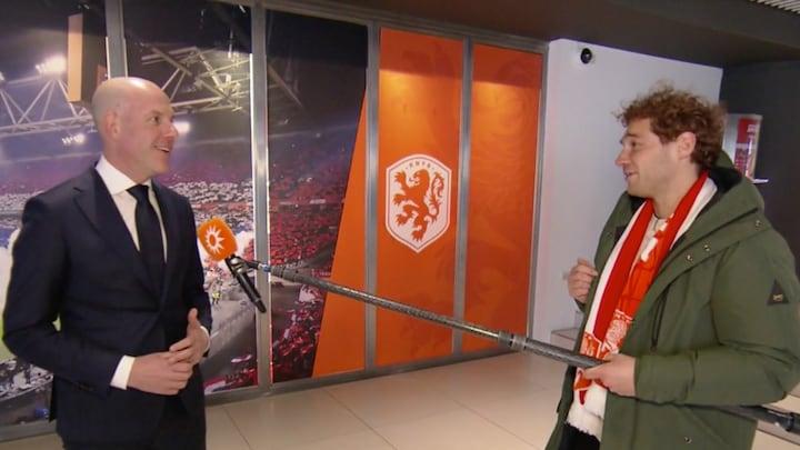 Voetballen met publiek nog onwennig voor Nederlands elftal