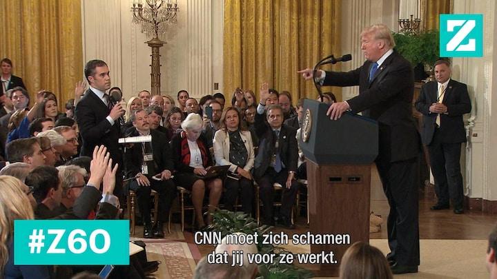 Verkiezingen voorbij, fittie Trump-CNN zeker niet