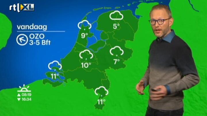 Buienradar NL 27 november 2014 12:00 uur