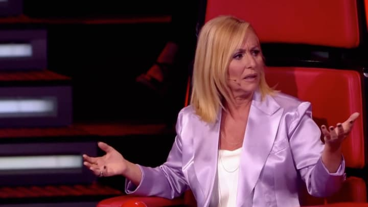De twijfel slaat toe bij Angela in finale The Voice Senior