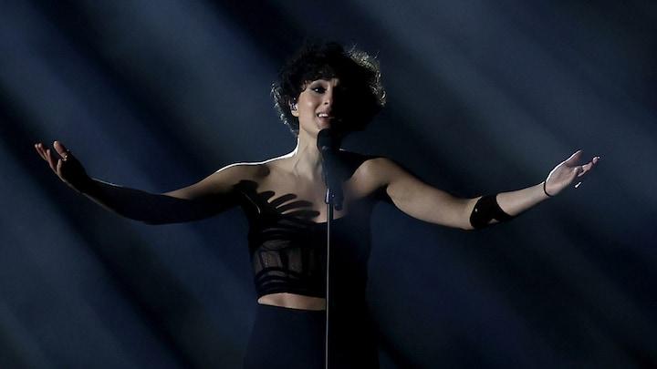Songfestivalzangeres Barbara Pravi trots op tweede plek