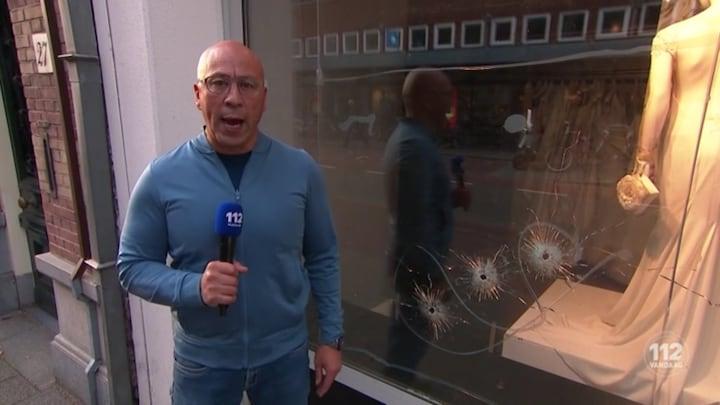 Bruidswinkel beschoten in Den Haag
