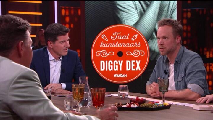 Diggy Dex schrijft openhartig over vaderschap