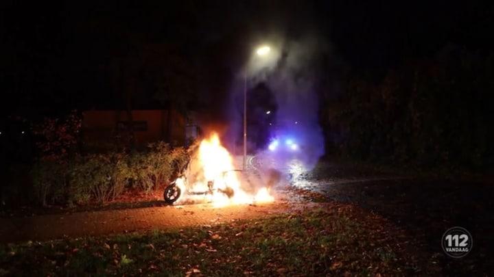 Deelscooters doelwit vandalen in Amersfoort