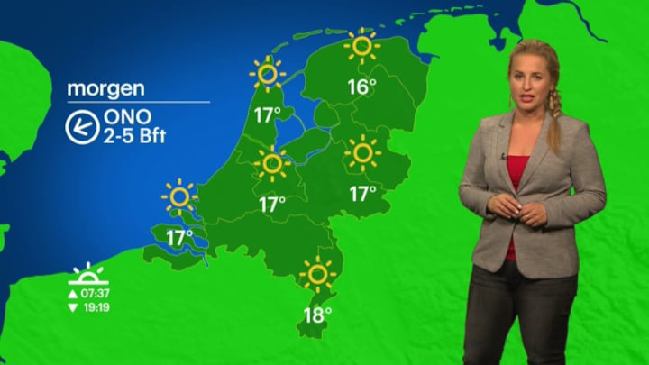 Buienradar NL 29 september 2015 11:00uur