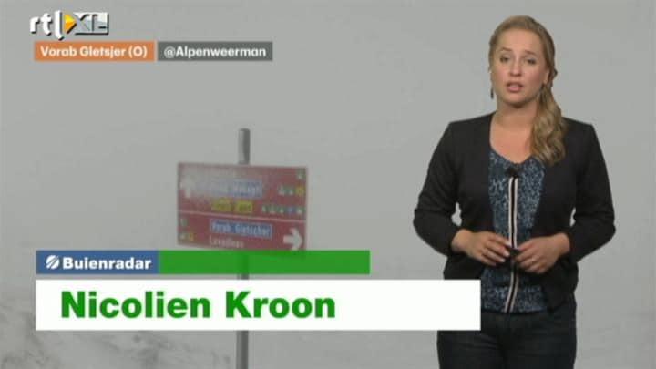 Buienradar NL 12 september 2014 12:00uur