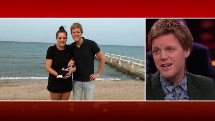 Britt (19) en baby Yassin eindelijk weer terug in Nederland