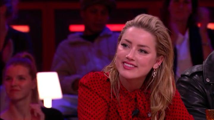 Hollywood-actrice Amber Heard strijdt tegen vrouwenonderdrukki...