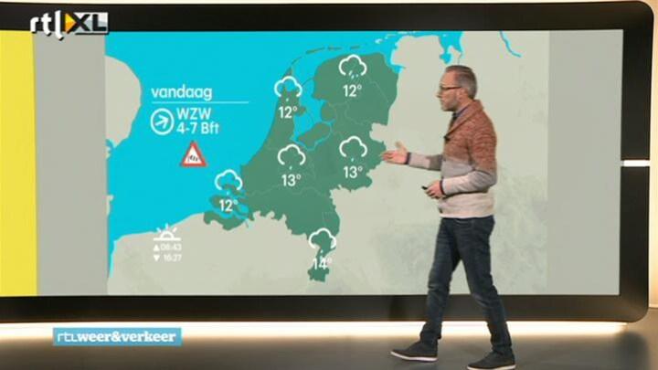 RTL Weer donderdag 18 december 2014 08:00 uur