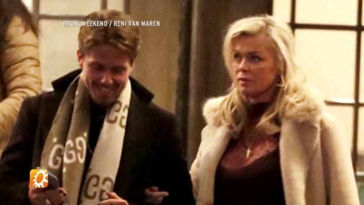 Eerste kiekje André Hazes en Bridget Maasland maakt tongen los - RTL Nieuws